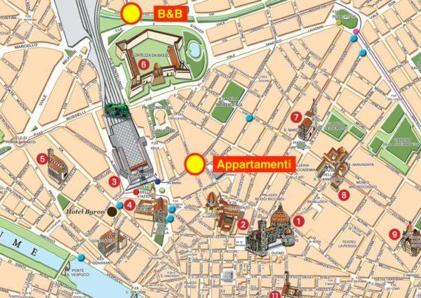 mappa locations